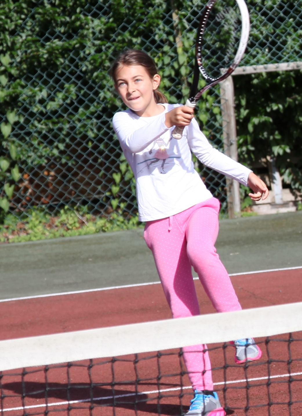 Attacking forehand