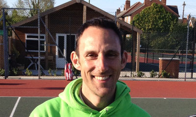 Martyn Jones - Tennis Coach at Nottingham's Activeace Arena